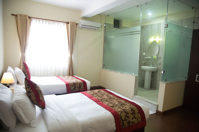 Rooms hotel imperial kathmandu for Room design in nepal
